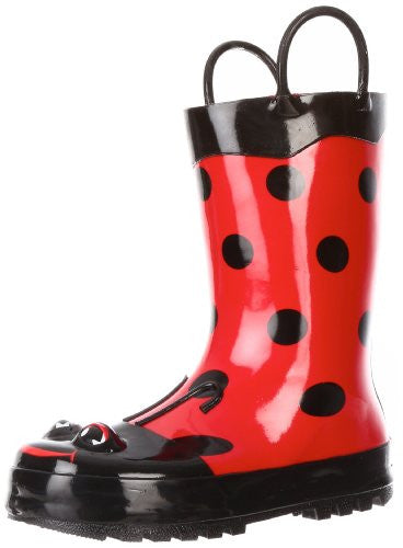 Western Chief Ladybug Red Boots Size: 2 Youth