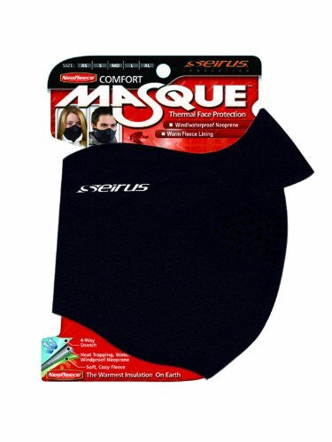 Neofleece Comfort Masque - Black, Extra Large