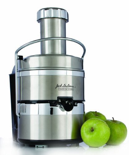 Jack LaLanne Power Juicer PRO - Stainless Steel