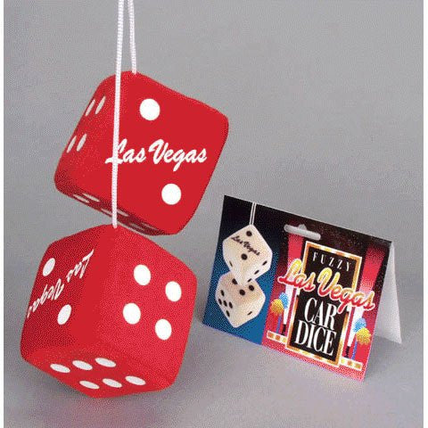 Las Vegas Car Dice (pair/poly bag)