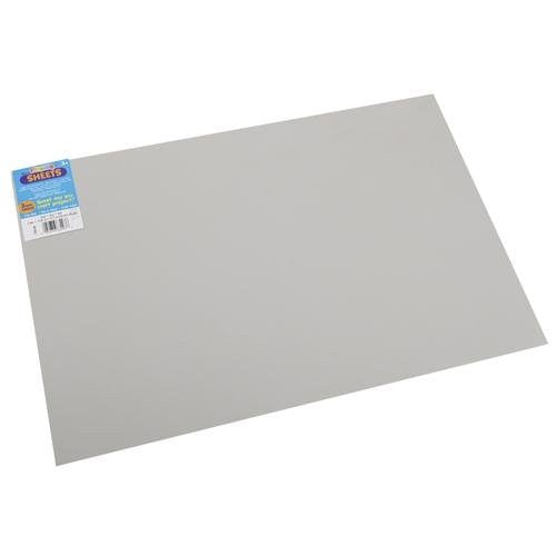 "Darice Foam Sheet 12""X18"" 2mm Gray"