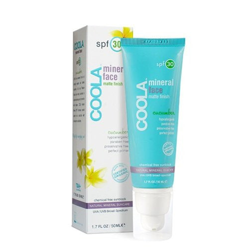 COOLA - Sunscreen for Face SPF 30 - Cucumber