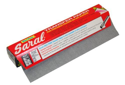 Saral Transfer Paper - 12 FOOT ROLLS Graphite