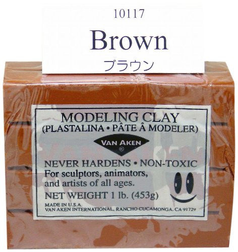 Modeling Clay Brown 1 lb