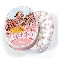 N/A 1/2014 FLAVIGNY ROSE OVAL 1.75oz TIN 8ct ANIS DE FLAVIGNY - Package