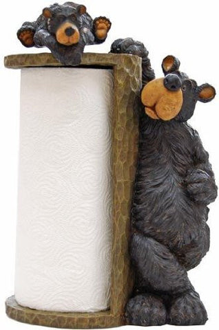 Willie Bear Paper Towel Holder