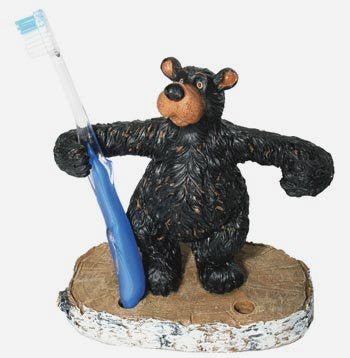Willie Bear Toothbrush /Pen Holder