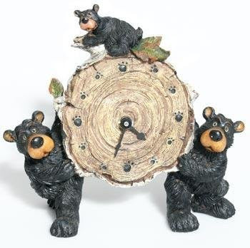 Willie Bear Clock