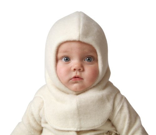 Nelson Hat (Balaclava), Child in Natural White, size 110 (2-5 yr)