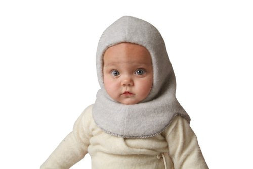 Nelson Hat (Balaclava), Child Grey Double-Layer 1-2 Years