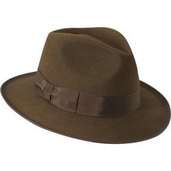 Indiana Jones Men's Wool Felt Fedora, Brown, X-Large