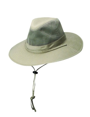 DPC Outdoors Solarweave Treated Cotton Hat (Camel / Small)