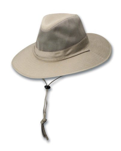 DPC Outdoors Solarweave Treated Cotton Hat (Camel / Large)