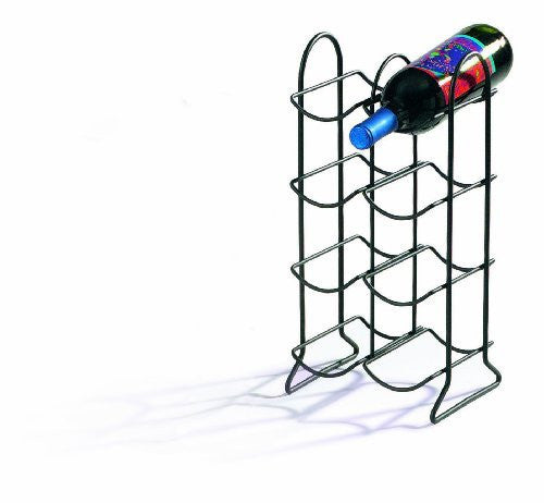 Townhouse Wine Rack 8 Bottle - Black