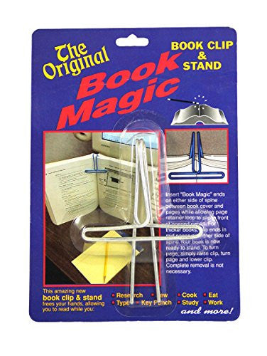 BOOK MAGIC book Clip & stand