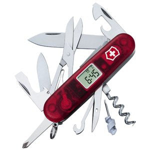 Victorinox Original Swiss Army Knives Voyager Lite Ruby Trans.