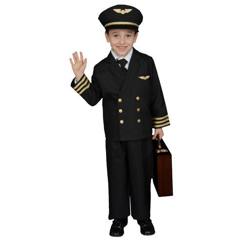Pilot Boy Jacket Costume