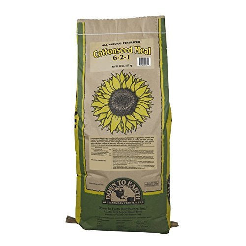 All Natural Fertilizer Cottonseed Meal 6-2-1 - 20lb