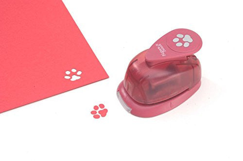 Darice Picture Punch - Dog Paw - 5/8 inch