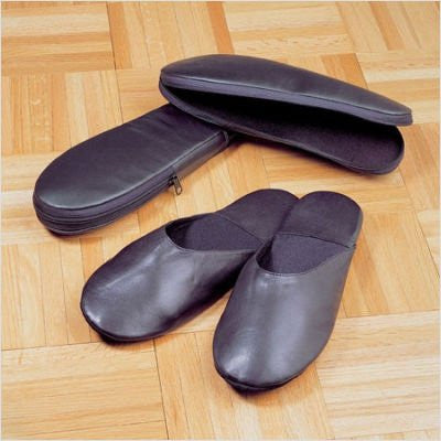 Leather Travel Slippers