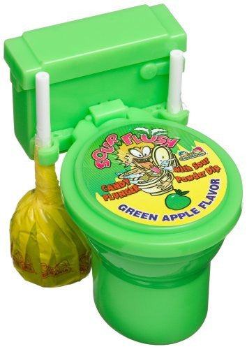 SOUR FLUSH (PLUNGER) 12ct KIDSMANIA - Package