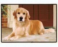Golden Retriever / Porch Doormat