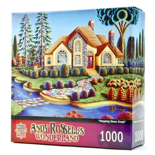 Wonderland Stepping Stone Creek 1000 piece Puzzle