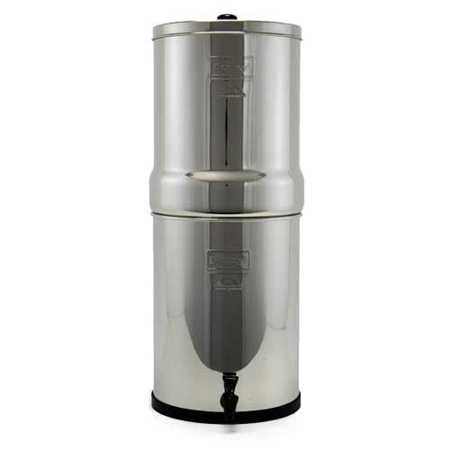 Crown Berkey™ 6 Gal. Stainless Steel Water Purifier with 2 Black Berkey™ Purification Elements