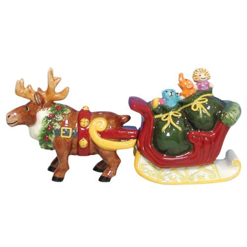 Reindeer & Sleigh S&P Shakers