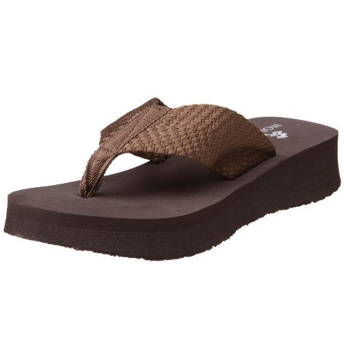 Nomad Women's Pancho Sandal,Brown,6 M US
