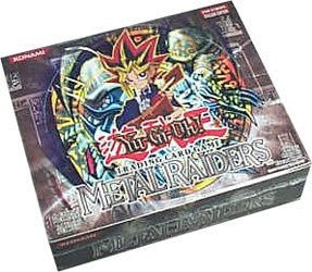 Yu-Gi-OH Metal Raiders Euro boosters, 9 cards/pack, 24packs/box