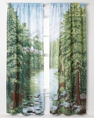 Woodland Crossing Window Art
