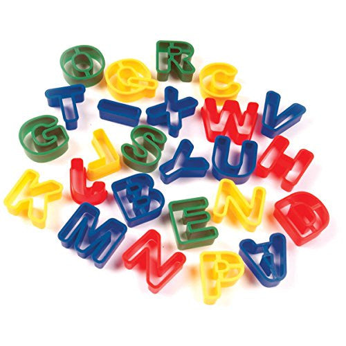 Dough Cutters - Capital Letters - 26 Pcs