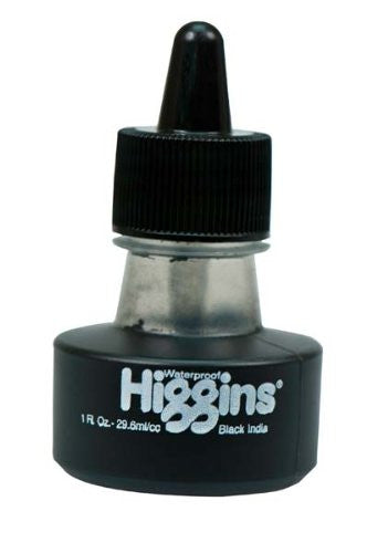 Higgins 4415 INK BLACK WP 1 OZ
