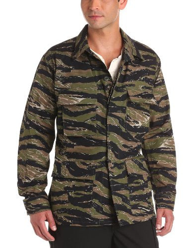 Genuine Gear BDU Coat (60/40 Cotton/Poly Ripstop) 3XL Regular (Asian Tiger Stripe)