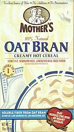 Hot Cereal Oatbran 16.0 OZ