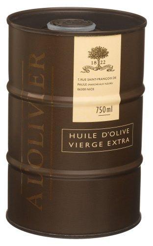 A L'Olivier Extra Virgin Olive Oil In Drum 750 ml