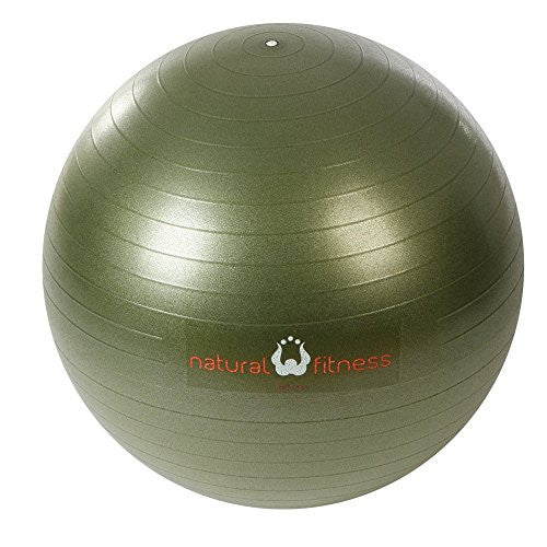 PRO Burst Resistant Exercise Ball- 65cm Small- OLIVE