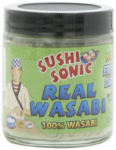 Real Wasabi, Powdered 1.5 OZ (Pack of 3)