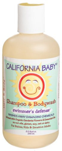 "Shampoo & Body Wash: ""Swimmer's Defense"" , 8.5 oz"