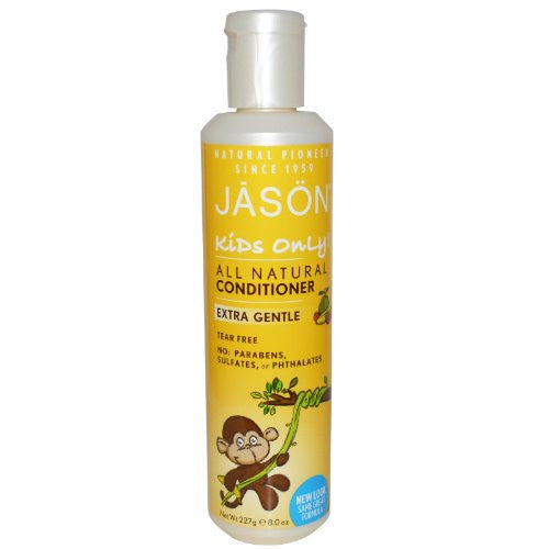 JASON NATURAL PRODUCTS, Kids Extra Gentle Conditioner - 8 oz ( Multi-Pack) (Package Quantity: 3)