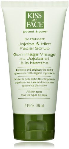 2 oz SO REFINED (Jojoba & Mint Facial Scrub