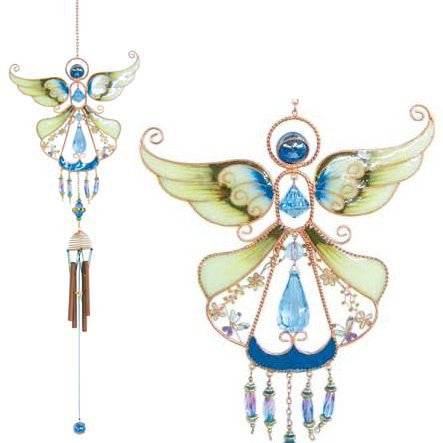 Windchime Copper Angel