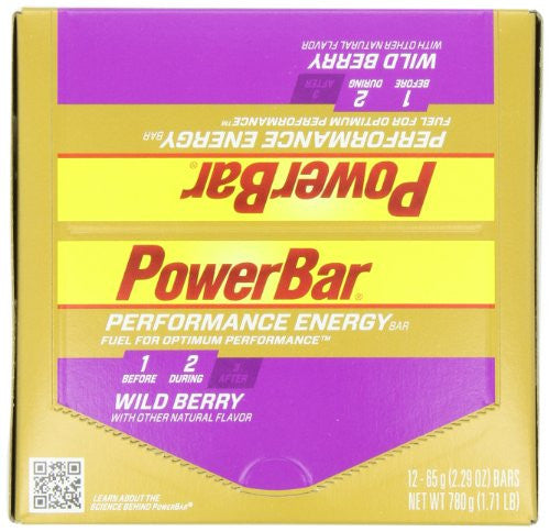 Power Bar Wild Berry 12/bx