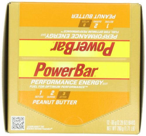 PERFORMANCE BAR PEANUT BUTTER (Pack of 24)
