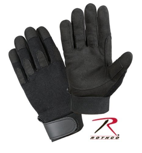 Rothco Lightweight All-Purpose Duty Glove - Large (Black)