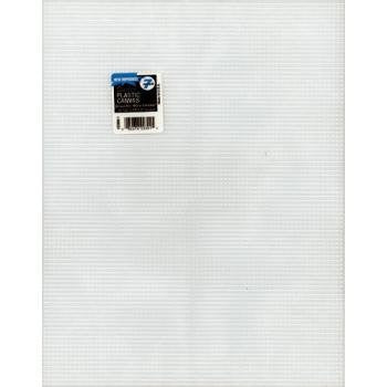"Darice Plastic Canvas 7 Count 10""X13"" Clear"