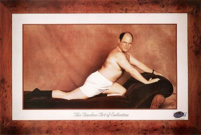 Seinfeld George The Timeless Art of Seduction TV Poster Print - 36x24