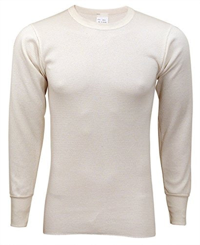 Indera Men's Tall 50/50 Raschel Knit Extra Heavy Top (Natural / XX-Large)