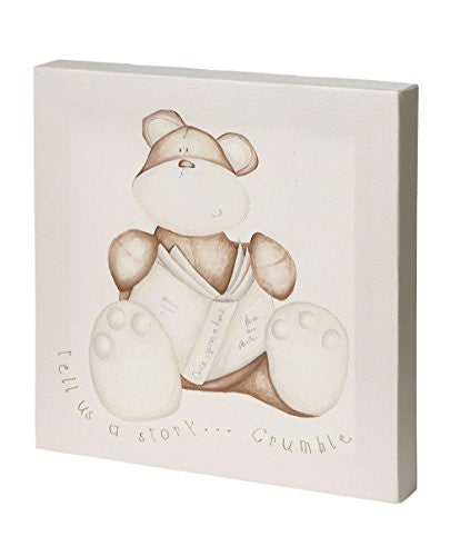 Once Upon a Time - Crumble Bear Canvas Wall Art